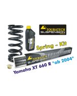 Hyperpro progressive replacement springs for fork and shock absorber, Yamaha XT660R *from 2004*