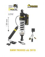 Touratech Suspension lowering -25mm shockabsorber for BMW F850GS from 2018 DDA / Plug & Travel
