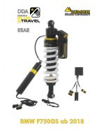 """Touratech Suspension """"rear"""" shock absorber for BMW F750GS from 2018 DDA / Plug & Travel"""