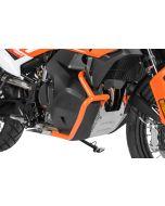 Tank crash bar stainless steel, orange for KTM 790 Adventure/ 790 Adventure R