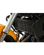 Radiator guard for Kawasaki Versys 650 (2012-2014), aluminum, black