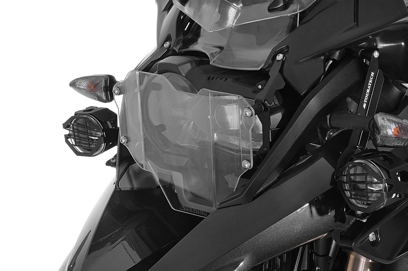 Fits R1200GS LC Adventure New Headlight Protector With Quick Release Fastener