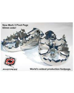 Pivot Pegz - *Mark3* for Kawasaki Versys 650 from 2006
