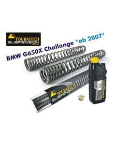 Hyperpro progressive replacement fork springs, BMW G650X Challenge