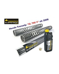 Hyperpro progressive replacement fork springs, Honda XL700V Transalp '08