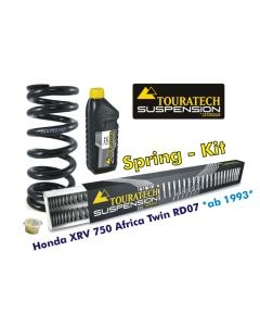 Progressive replacement springs for fork and shock absorber, Honda XRV750 Africa-Twin RD07 from 1993