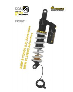 """Touratech Suspension """"front"""" shock absorber for BMW R1200GS Adventure (LC) /R1250GS Adventure DDA/Plug & Travel from 2014"""