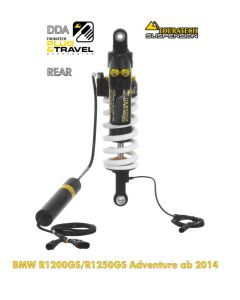 """Touratech Suspension """"rear"""" shock absorber for BMW R1200GS Adventure (LC) / R1250GS Adventure DDA/Plug & Travel from 2014"""