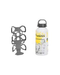 "ZEGA Pro/ZEGA Mundo accessory holder ""bottle holder"" single with Touratech aluminum bottle 0.6 litres"