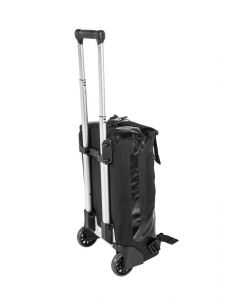 Travelbag Duffle RG with wheels, 34 litres, black, by Touratech Waterproof