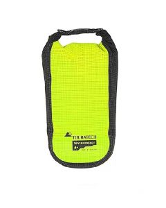 Additional bag High Visibility, size S, 2 litres, yellow/black, by Touratech Waterproof