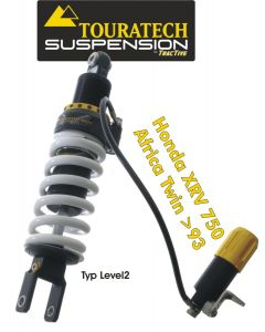 Touratech Suspension shock absorber for Honda XRV750 Africa Twin from 1993 type Level2/ExploreHP