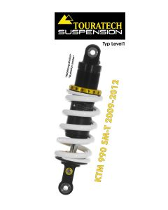 Touratech Suspension shock absorber for KTM 990 SM-T (2009-2012) type Level1