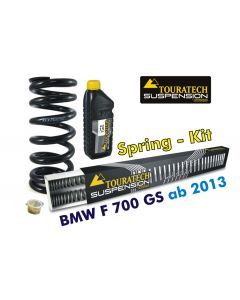 Hyperpro progressive replacement springs for fork and shock absorber, BMW F700GS *from 2013*