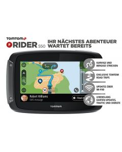 TomTom Rider 550 World, Lifetime global maps