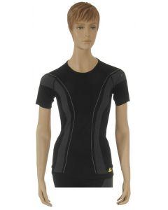 "T-shirt ""Allroad"", ladies, black, size M"
