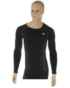 "Longshirt ""Allroad"", men, black, size L"