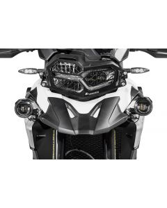 Set of LED auxiliary headlights fog right/full beam headlight left for BMW F850GS / F750GS