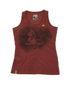 "Tank top ""Retro"", women, red, size M"
