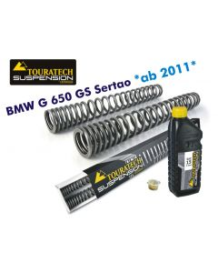 Progressive fork springs for BMW G650GS Sertao *from 2011*