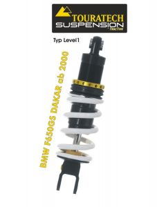 Touratech Suspension shock absorber for BMW F650GS DAKAR from 2000 Typ Level1