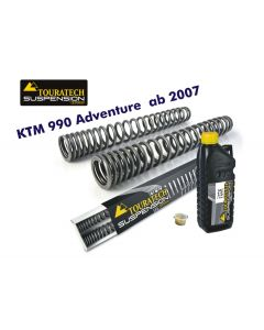 Progressive fork springs for KTM 990 Adventure from 2007