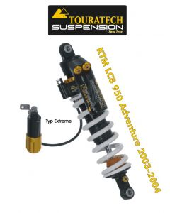 Touratech Suspension shock absorber for KTM LC8 950 Adventure (2003-2004) type Extreme