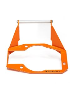 GPS mounting adapter above instruments, orange, for KTM 1050 Adventure/ 1090 Adventure/ 1190 Adventure/ 1190 Adventure R