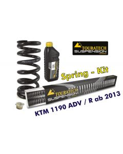 Progressive replacement springs for fork and shock absorber, for KTM 1190 Adventure R from 2013 (with ABS without EDS)