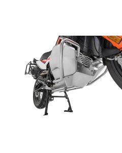 Engine protector RALLYE Evo, Aluminium for KTM 790 Adventure/ 790 Adventure R - KTM centre stand
