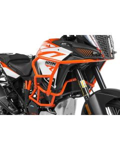 Crash bar extension orange for KTM 1290 Super Adventure S / R