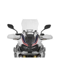 Windscreen, L, transparent, for Honda CRF1000L Africa Twin/ CRF1000L Adventure Sports