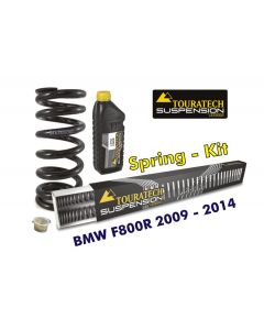 Hyperpro progressive replacement springs for fork and shock absorber, BMW F800R 2009-2014 *replacement springs*
