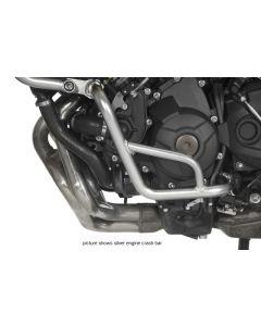 Engine crash bar, stainless steel black, for Yamaha MT-09 Tracer
