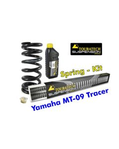 Hyperpro progressive replacement springs for fork and shock absorber, Yamaha MT 09 Tracer 2015-2016 replacement springs
