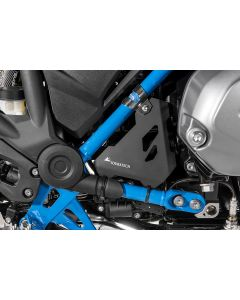 Protection for starter, black, for BMW R1250GS/ R1250GS Adventure/ R1200GS (LC) / R1200GS Adventure (LC)