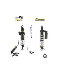 Touratech Suspension-SET Plug & Travel -25 mm lowering for BMW R1200GS/R1250GS Adventure  from 2017